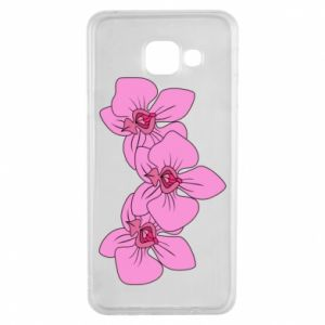 Etui na Samsung A3 2016 Orchid flowers