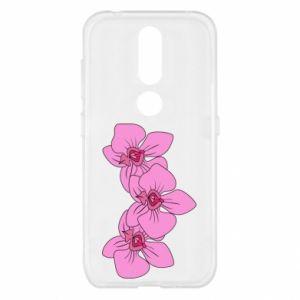 Etui na Nokia 4.2 Orchid flowers