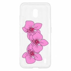 Etui na Nokia 2.2 Orchid flowers