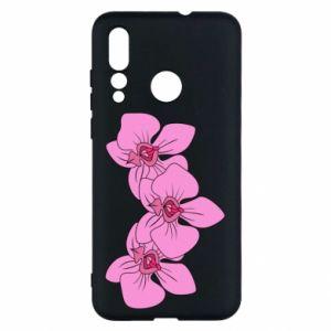 Etui na Huawei Nova 4 Orchid flowers