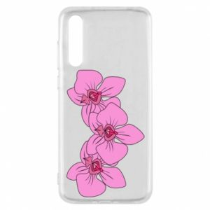 Etui na Huawei P20 Pro Orchid flowers