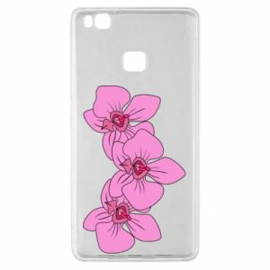 Etui na Huawei P9 Lite Orchid flowers