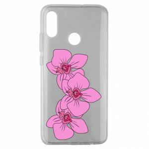 Etui na Huawei Honor 10 Lite Orchid flowers