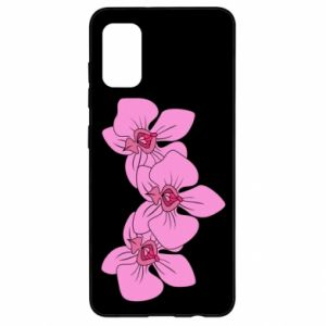 Etui na Samsung A41 Orchid flowers