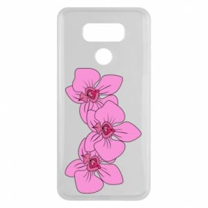 Etui na LG G6 Orchid flowers