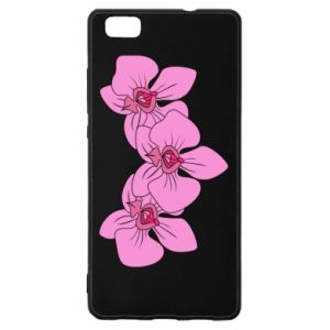 Etui na Huawei P 8 Lite Orchid flowers