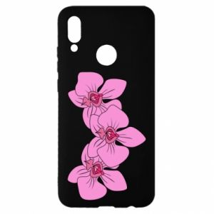 Etui na Huawei P Smart 2019 Orchid flowers