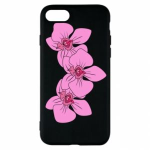 Etui na iPhone SE 2020 Orchid flowers
