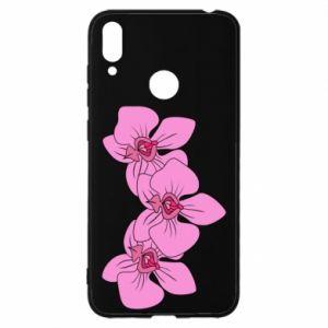 Etui na Huawei Y7 2019 Orchid flowers