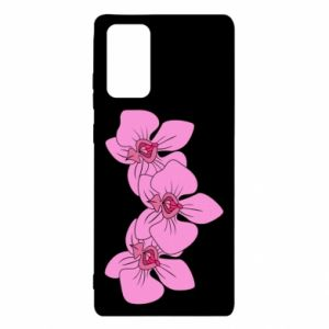 Etui na Samsung Note 20 Orchid flowers