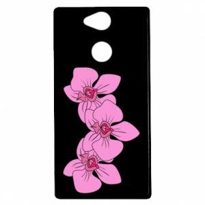 Etui na Sony Xperia XA2 Orchid flowers