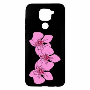 Etui na Xiaomi Redmi Note 9/Redmi 10X Orchid flowers