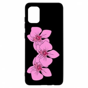 Etui na Samsung A31 Orchid flowers