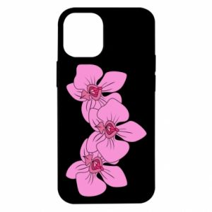 Etui na iPhone 12 Mini Orchid flowers