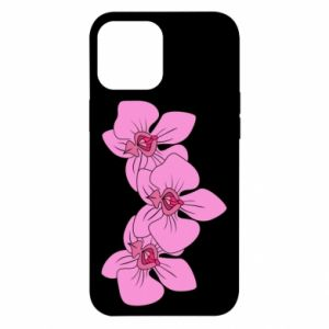 Etui na iPhone 12 Pro Max Orchid flowers
