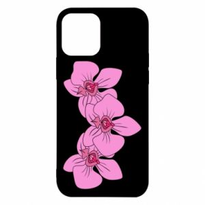 Etui na iPhone 12/12 Pro Orchid flowers