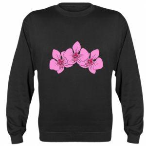 Bluza (raglan) Orchid flowers