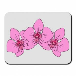 Podkładka pod mysz Orchid flowers