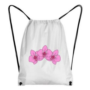 Plecak-worek Orchid flowers
