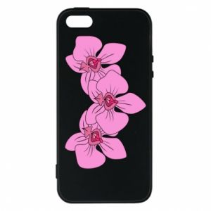 Etui na iPhone 5/5S/SE Orchid flowers