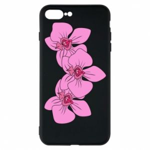 Etui do iPhone 7 Plus Orchid flowers