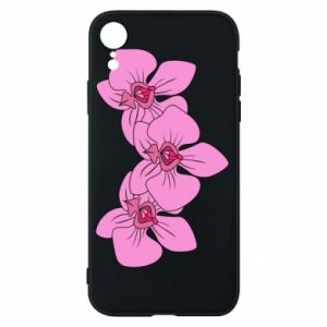Etui na iPhone XR Orchid flowers