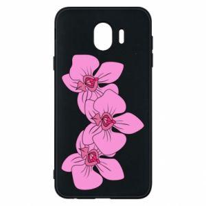 Etui na Samsung J4 Orchid flowers