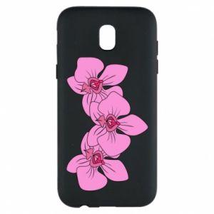 Etui na Samsung J5 2017 Orchid flowers
