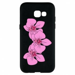 Etui na Samsung A5 2017 Orchid flowers