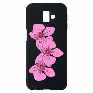 Etui na Samsung J6 Plus 2018 Orchid flowers