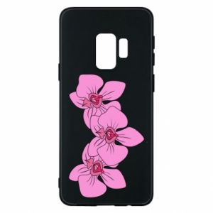 Etui na Samsung S9 Orchid flowers
