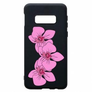Etui na Samsung S10e Orchid flowers