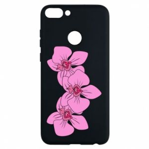 Phone case for Huawei P Smart Orchid flowers