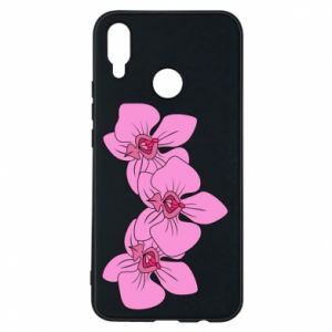 Etui na Huawei P Smart Plus Orchid flowers