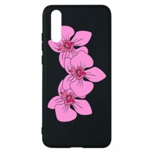 Etui na Huawei P20 Orchid flowers