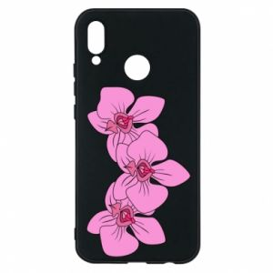 Etui na Huawei P20 Lite Orchid flowers
