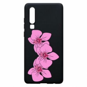 Etui na Huawei P30 Orchid flowers
