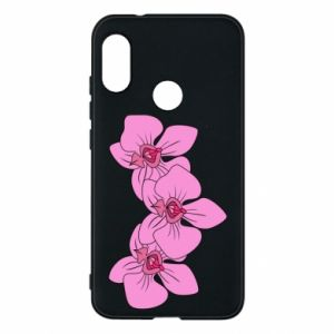 Etui na Mi A2 Lite Orchid flowers