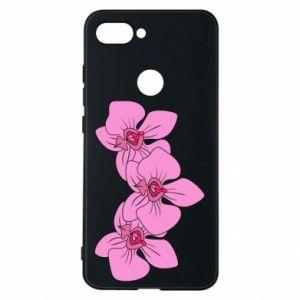Etui na Xiaomi Mi8 Lite Orchid flowers