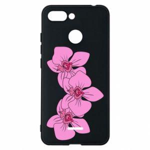 Etui na Xiaomi Redmi 6 Orchid flowers