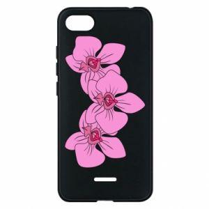Etui na Xiaomi Redmi 6A Orchid flowers