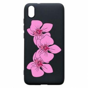 Etui na Xiaomi Redmi 7A Orchid flowers
