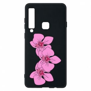 Etui na Samsung A9 2018 Orchid flowers