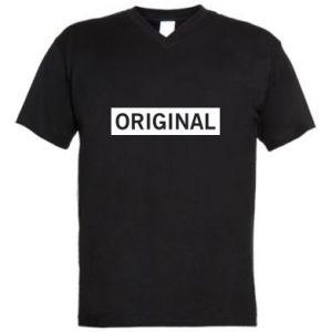 Męska koszulka V-neck Original - PrintSalon