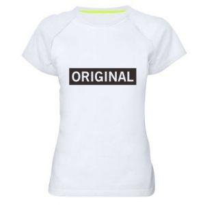 Damska koszulka sportowa Original - PrintSalon
