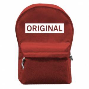 Plecak z przednią kieszenią Original - PrintSalon