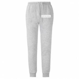 Męskie spodnie lekkie Original - PrintSalon