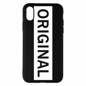 Etui na iPhone X/Xs Original - PrintSalon