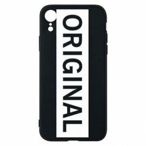 Etui na iPhone XR Original - PrintSalon