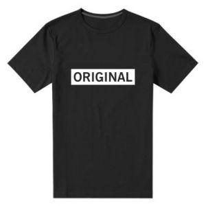 Męska premium koszulka Original - PrintSalon